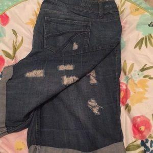 Getting donated soon! Jean Bermuda shorts